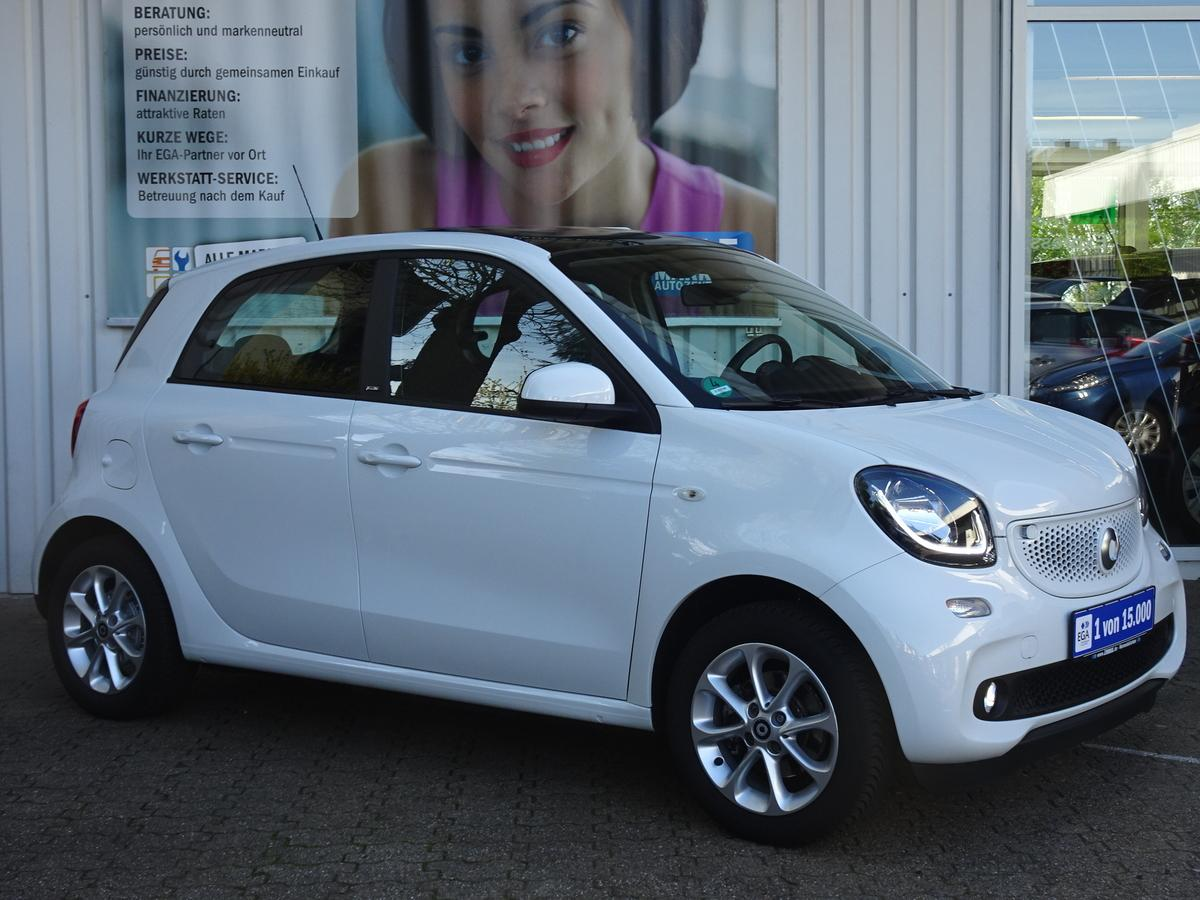 Smart ForFour  TWINAMIC*PANORAMADACH*LED PAK* PDC*SHZ