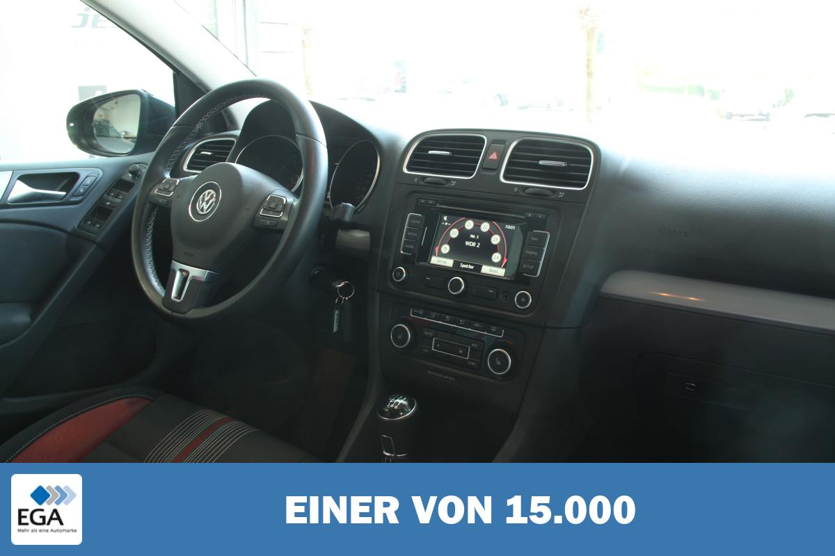 Volkswagen Golf VI 1 4 TSI Match Navi PDC SHZ AHK Fahrzeughaus