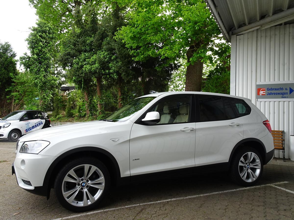 """BMW X3 2 0d xDRIVE KLIMA AHK LEDER NAVI 19""""ALU ERST 47TKM 1"""