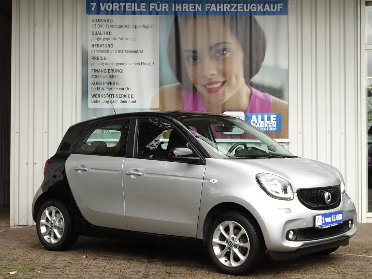 Smart ForFour 66KW/PASSION/COOL&AUDIO/LED&SENSOR/PTS/SHZ/TEMPOMAT