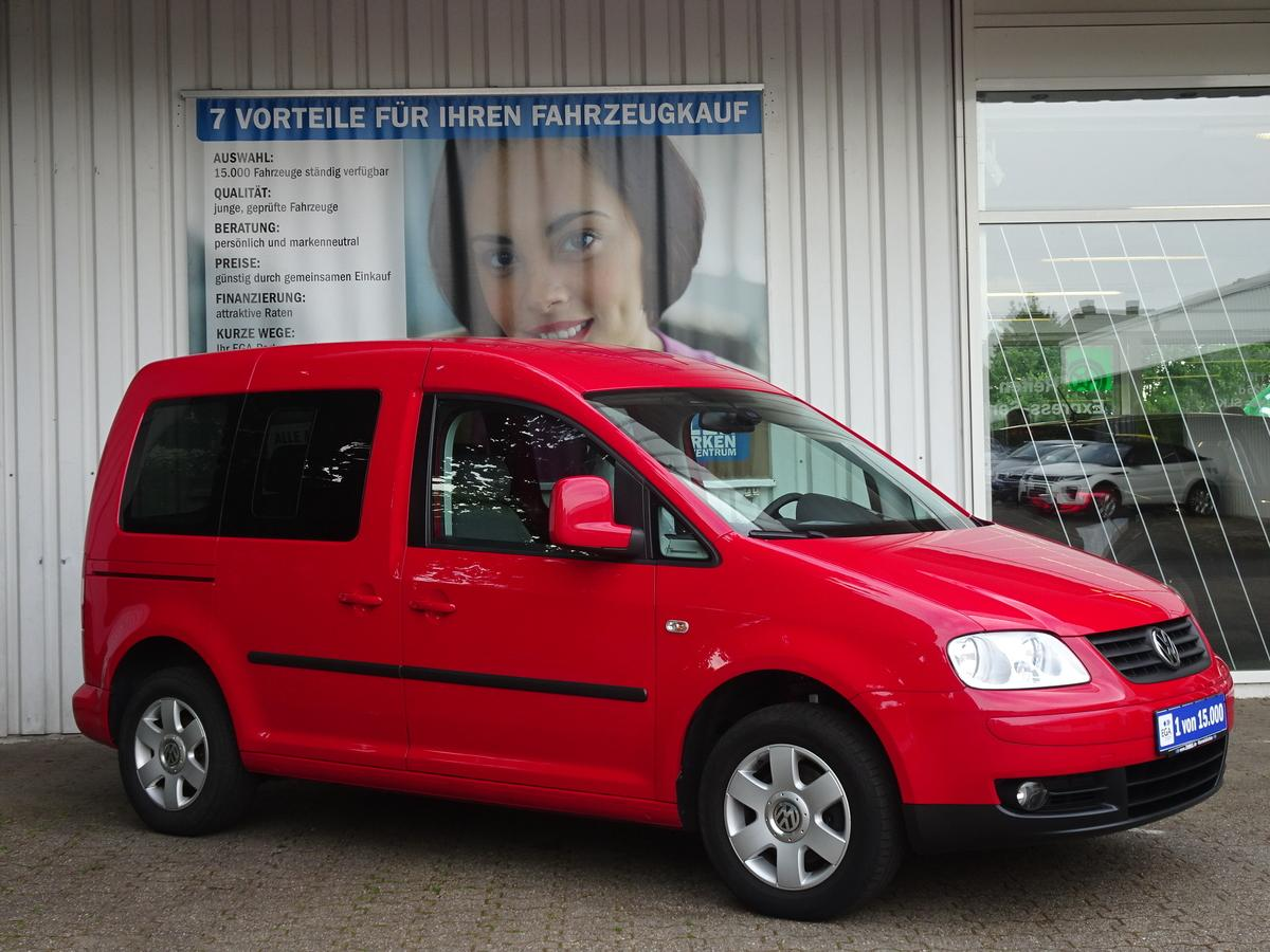 Volkswagen Caddy 1,6 COOL & SOUND KLIMA ALU 1 HAND