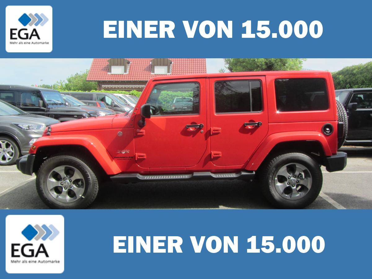 Jeep Wrangler 3,6 V6 Unlimited Sahara / 18 Zoll + Touchscreen