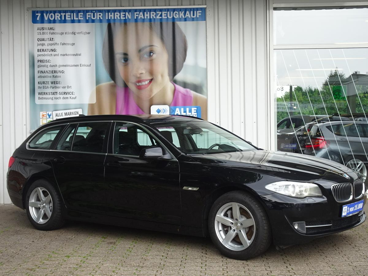 BMW 525 d TOUR 1HD REIFEN NEU XENON ALU PDC AHK NAVI - Fahrzeughaus ...