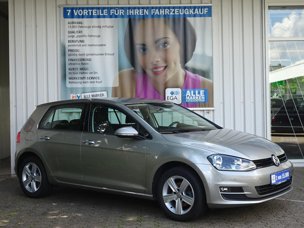 Volkswagen Golf VII 1.2 TSI Comfortline ALU PDC AHK KLIMA 1.HAND ...
