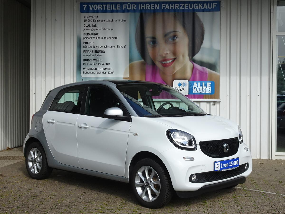 Smart ForFour passion SITZH. COOL&AUDIO PANORAMA COMF.PAK MJ.2018