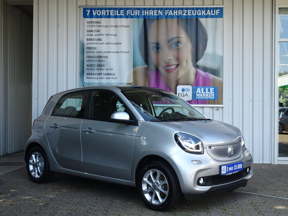 Smart ForFour passion twinamic 66kW PANORA PTS SHZ Cool/Audio/LED