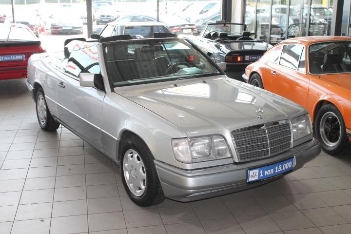 Mercedes-Benz E 200  Cabriolet 124er, el Verdeck, Alu