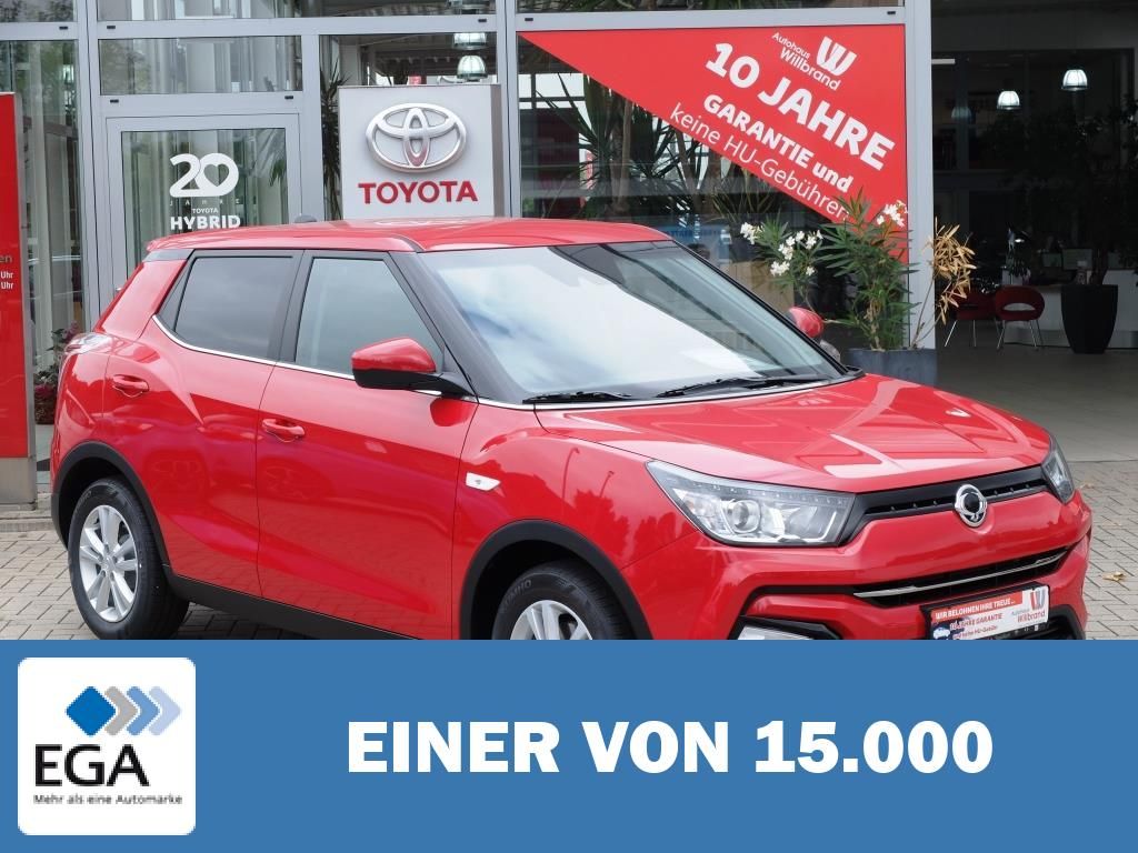 Ssangyong Tivoli e-XGi 160 2WD Sell Out, 0%, 5 Jahre Garantie