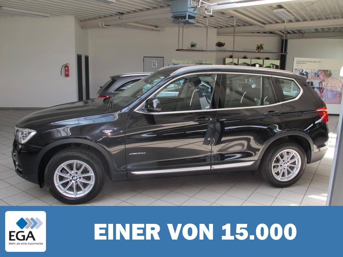 BMW X3xDrive20dA xLine * Navi * Leder * LED * Head Up *