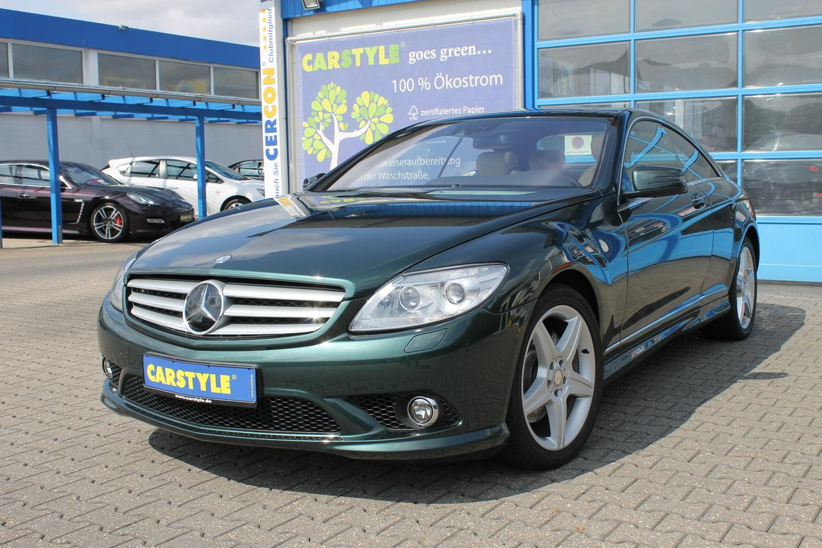 Mercedes-Benz CL 500 4Matic AMG SportPkt HarKardon Massage ACC TV NachtAss