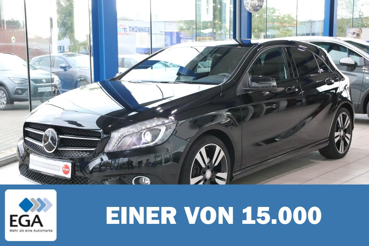Mercedes-Benz A 200 Urban Navi SHZG Teilleder TOP Night-Paket 18