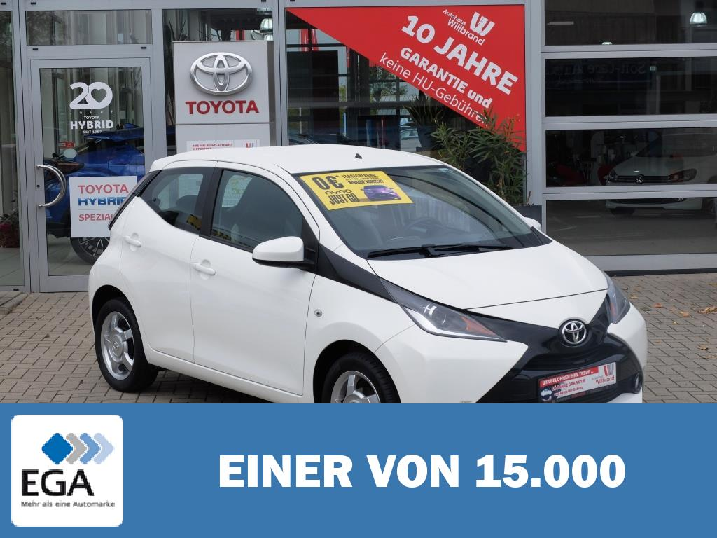 Toyota Aygo x-play touch 1Hd. 1 A Zustand
