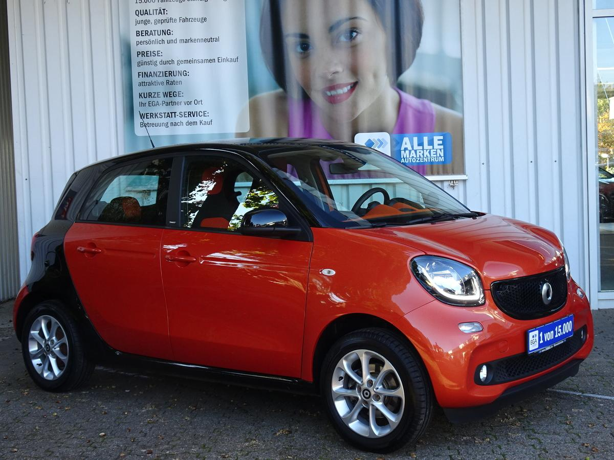 Smart ForFour PASSION/TWINAMIC/NAVI/LED + SENS/PTS/KOMF PK/SHZ