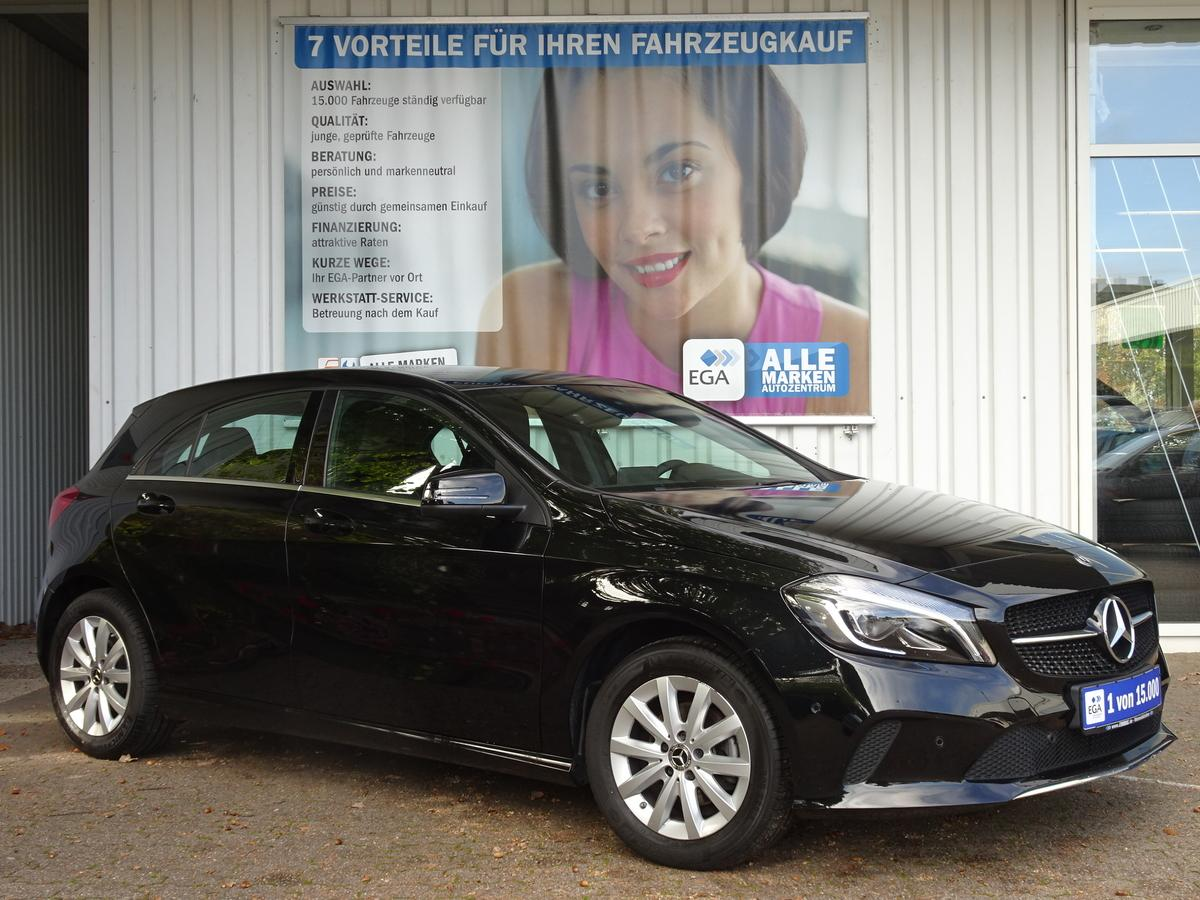 Mercedes-Benz A 180 d STYLE E6 COMAND BUSINESS LED ALU SHZ PTS TEMPOMAT BT