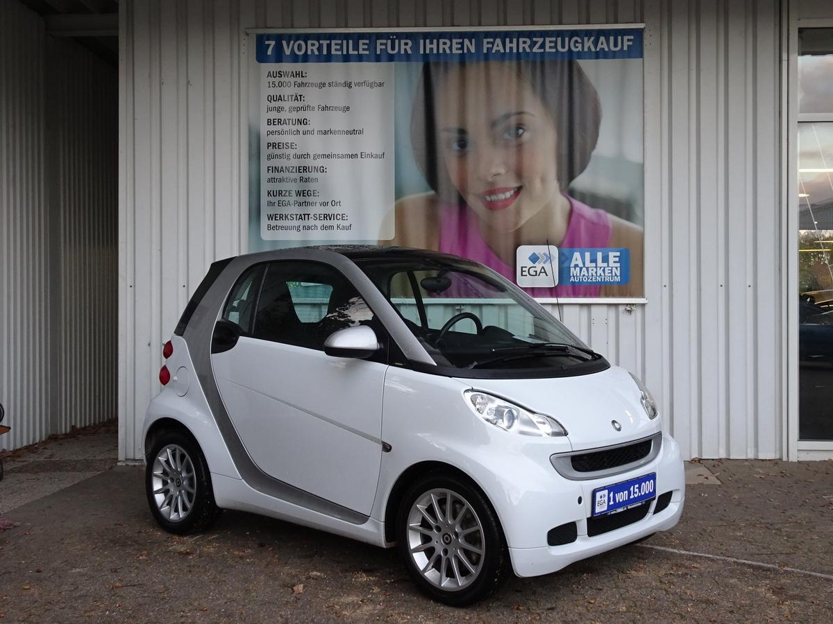 Smart ForTwo fortwo coupe*KLIMAUT*ALU*GEPFLEGT*WI RÄDER