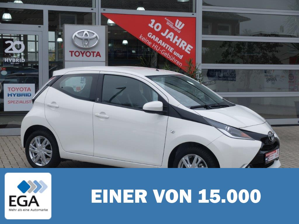 Toyota Aygo x-play touch, 0 Euro Versicherung, 99 Euro Rate