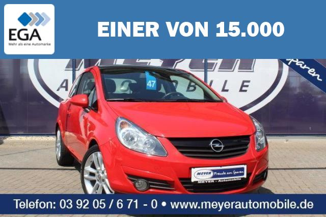 Opel Corsa D 1.2 Color Edition SHZ/17-Zoll-Alu