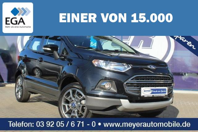 Ford EcoSport 1.0 EcoBoost Titanium PDC/17-Zoll/Tempomat