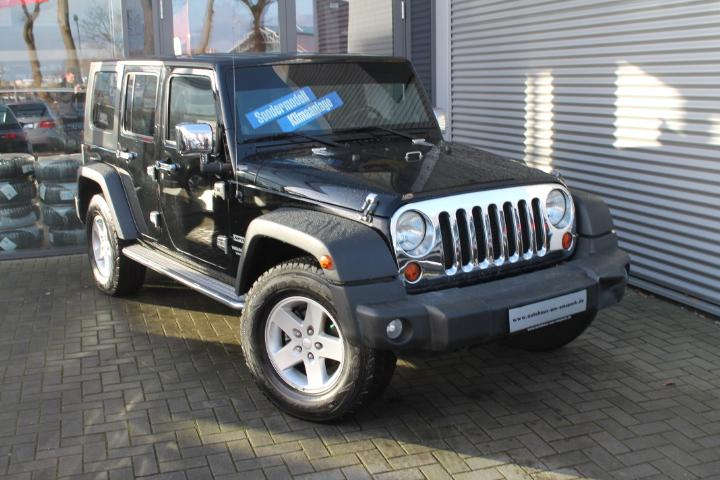 Jeep Wrangler Unlimited Sport Hard-Top 2,8 crd, Klima, GRA, AHK