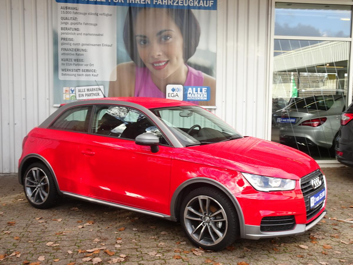Audi A1 1.0 TFSI ultra ADMIRED ACTIVE STYLE 17 ZOLL SHZ KLIMA