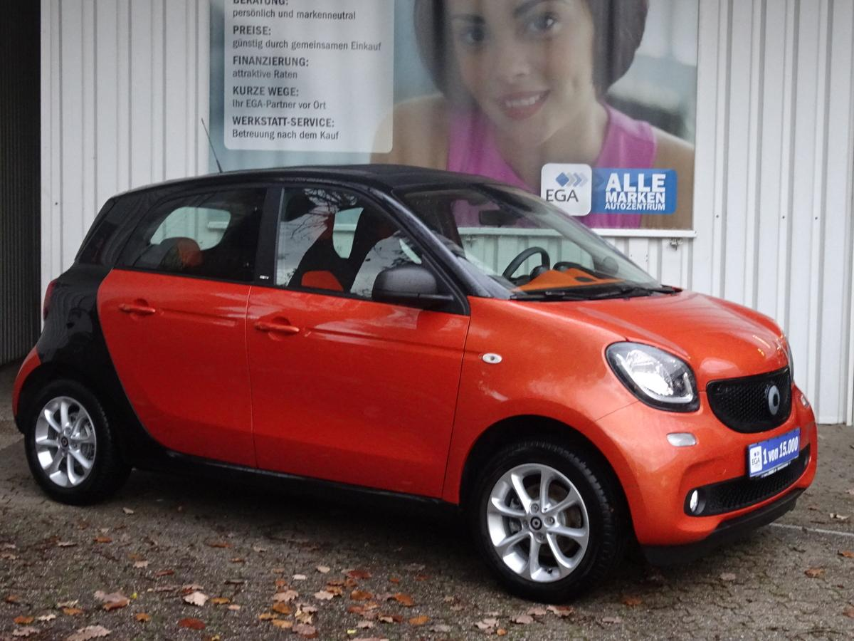 Smart ForFour twinamic passion FALTDACH PTS COOL&AUDIO LED&SENSOR