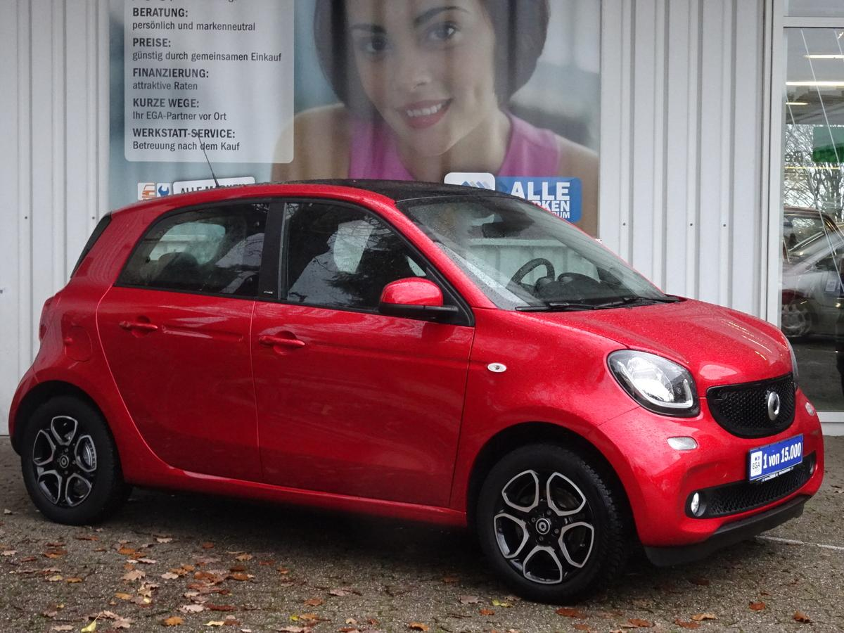 Smart ForFour twinamic passion PANO*NAV*LED*COOL*MEDIA*PDC*SHZ*RDY