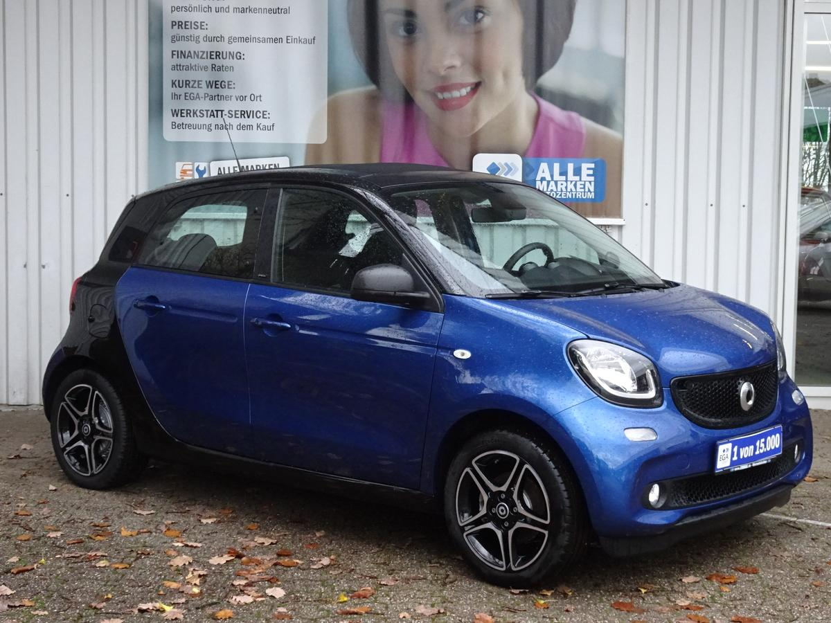 Smart ForFour twinamic SLEEK-SPORT*FALTDACH*COOL*MEDIA*NAV*PDC*SHZ