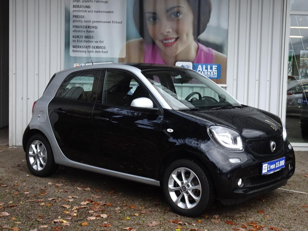 Smart ForFour passion PANORAMA KOMFORT COOL&AUDIO LED&SENSOR PTS