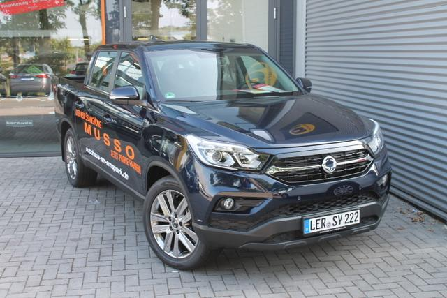 Ssangyong MUSSO  2,2 e-XDI Crystal 2WD, 5 Jahre Garantie
