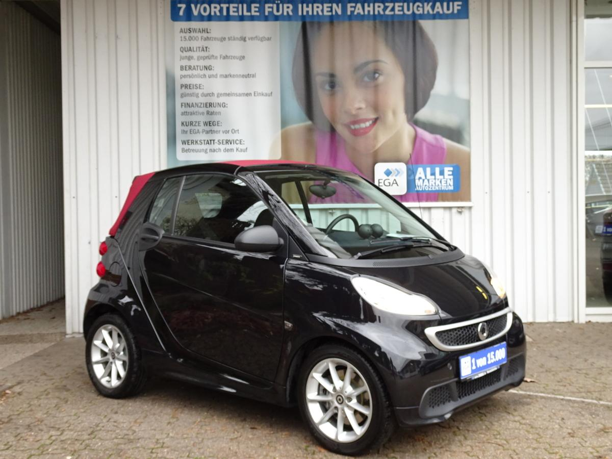 Smart ForTwo CABRIO MHD PASSION KLIMA ALU AUDIO SOUND  ERST 26TKM