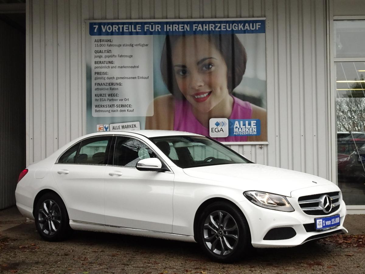 Mercedes-Benz C 180 AVANTGARDE NAVI TEMPOMAT ALU CD BUSINESS PTS SHZ BTH