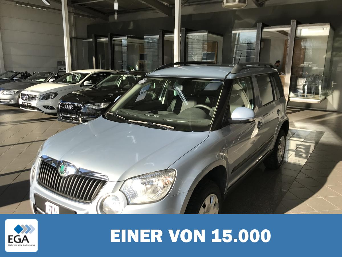 Skoda Yeti 1.2 TSI Active Plus Edition AHK PDC SHZ