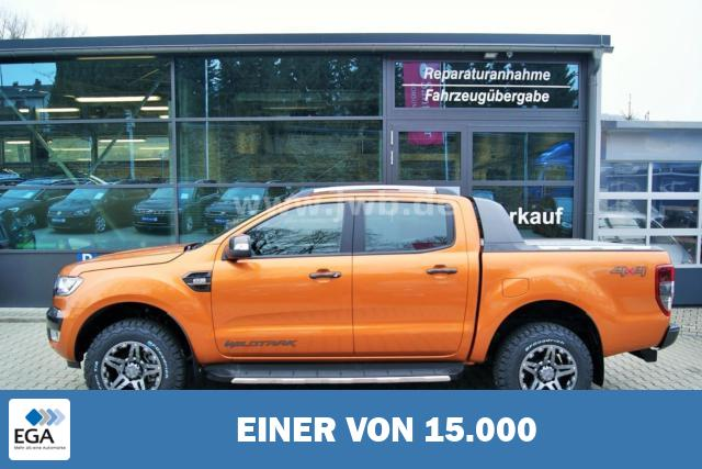 Ford Ranger Wildtrak Standheizung Rollo Np54t -32% ACC Offro