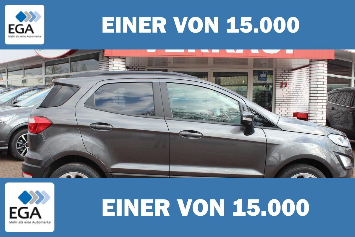 Ford EcoSport Cool & Connect 1,0 / Navi / FGS 7 Jahre / PDC