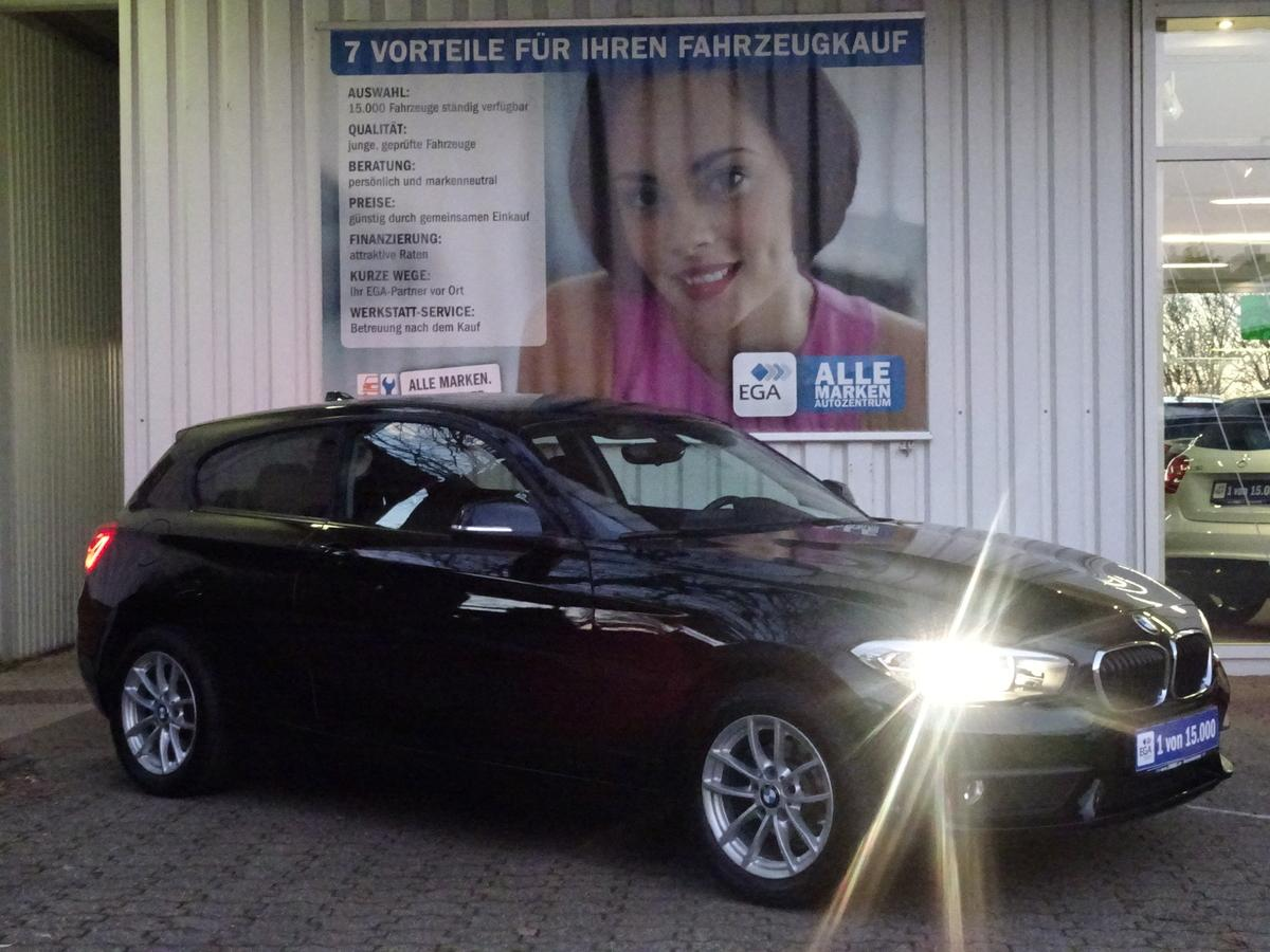 BMW 116i ADVANTAGE 1HD*PDC*BT*TEMPOM*PRIVACY*TAG LED*ALU*
