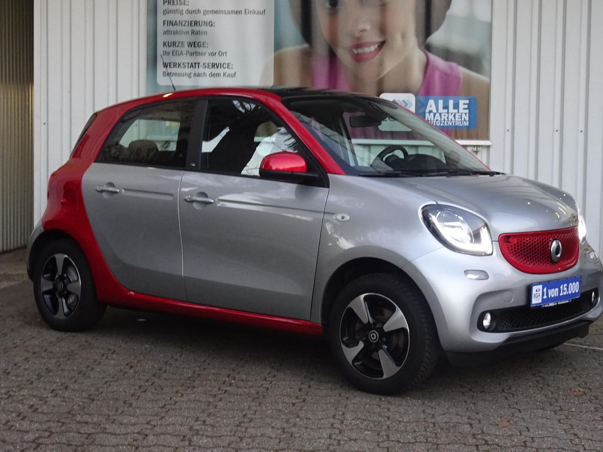 Smart ForFour 66kW*PANORAMA*COOL*AUDIO*LED*SENSOR*KOMFORT*PDC*SHZ*