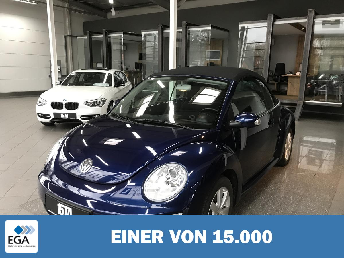 Volkswagen New Beetle Cabriolet Tempomat SHZ