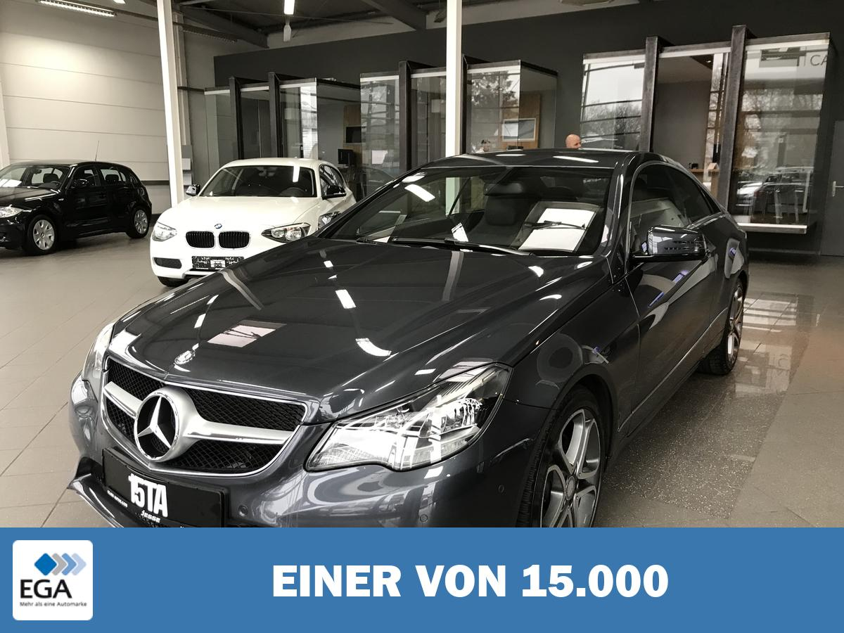 Mercedes-Benz E 200 CGI Coupe Navi LED-Scheinwerfer