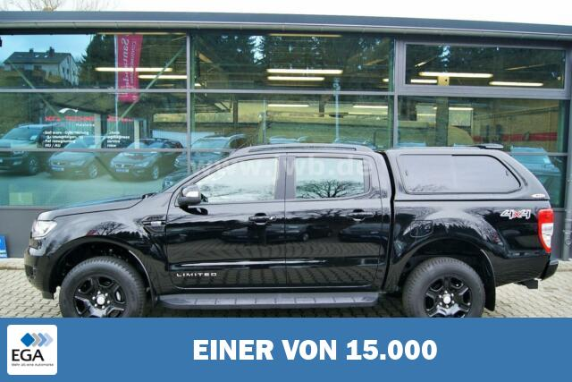 Ford Ranger Hardtop Black Edition Limited Np.52t¤ AHK