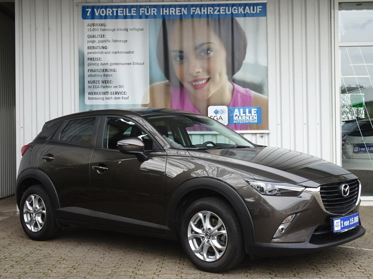 Mazda CX-3 Exclusive LED*SHZG*PDC*TEMPOMAT*BTH*PRIVACY*ALU*SPURASS