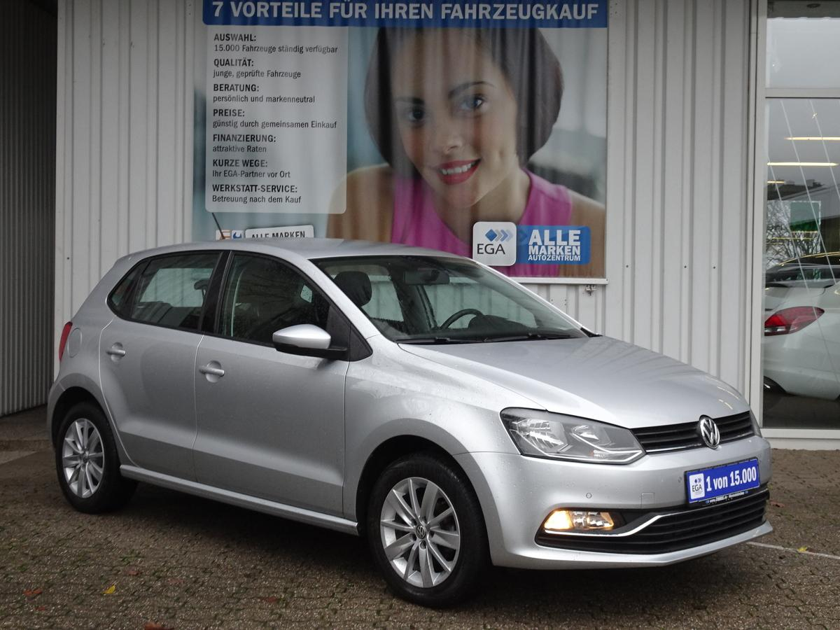 Volkswagen Polo 1.0 Comfortline*KLIMA*PDC v+h*ALU*BTH*MP3*USB*CD*SD-IN