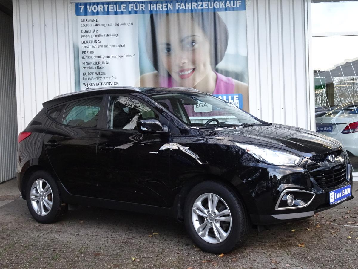 Hyundai ix35 2.0 AWD PRIVACY*NSW*KLIMAAUT*SHZG*BLUETOOTH*ALU 17*MFL*