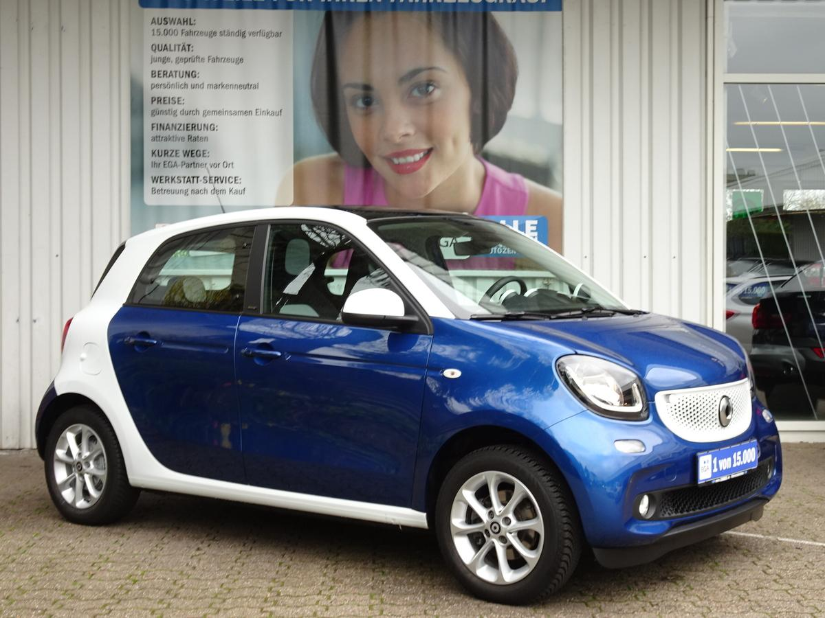 Smart ForFour 66kW passion*PANO*COOL*AUDIO*LED*SENSOR*SHZ*PTS*ALU*