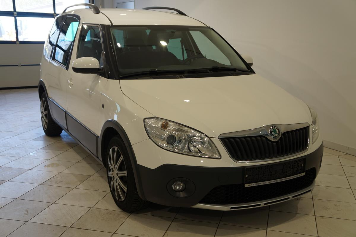 Skoda Roomster 1.2TSI SCOUT AHZV PDC Standheizung