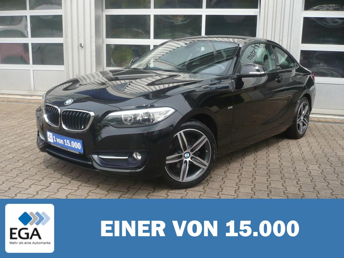 BMW 218i Coupe Sport Line - PDC/ Sitzh./Sound