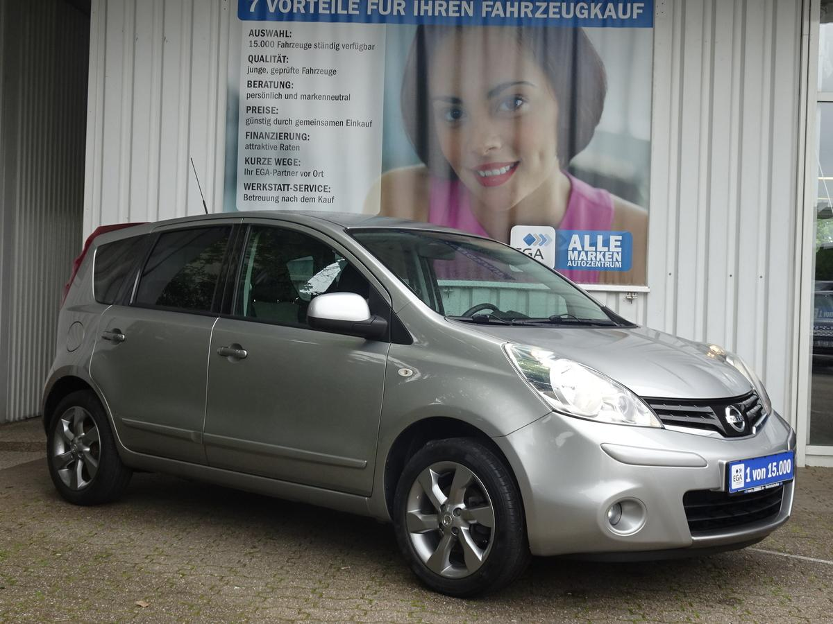 Nissan Note  I WAY* 45 TKM*MP3*NAVI* PRIVAC* TEMPOMAT* ALU* BTH*2H*
