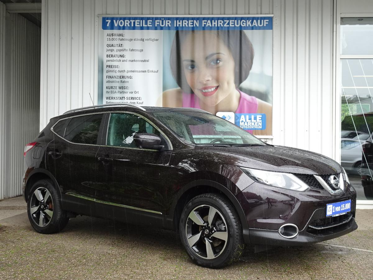 Nissan Qashqai  360* 1HD NAVI* PDC* CAM* SHZ* GLASD* PRIVACY*