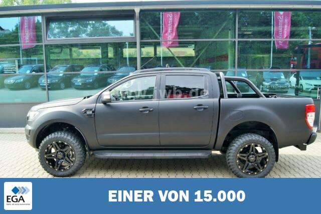 Ford Ranger Black Edition Raptor Matt Foliert AHK ACC