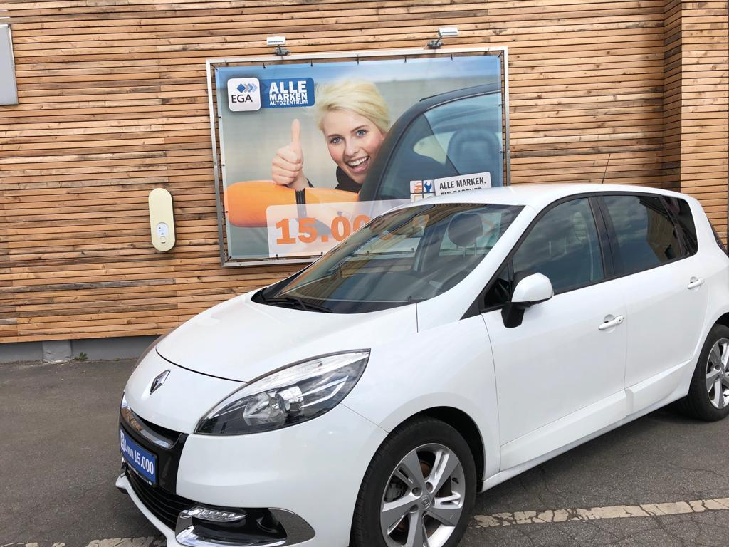 Renault Scenic Dynamique ENERGY, Standhzg., 8x BEREIFT