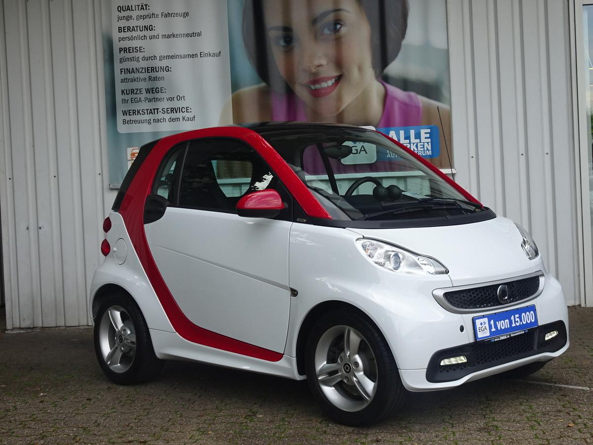 Smart ForTwo COUPE MHD  PULSE  KLIMA PANORAMADACH CD ALU